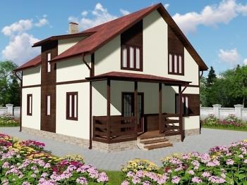 Каркасный дом К-1