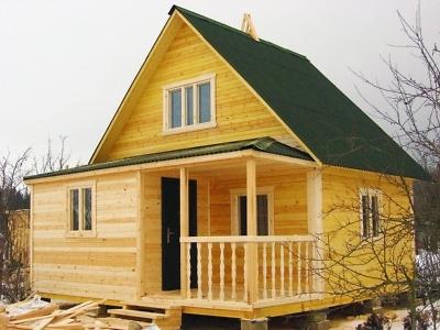 дом из бруса в Ивановском Ступинского района