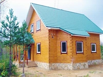 дом из бруса в СНТ Клейменово Серпуховский район