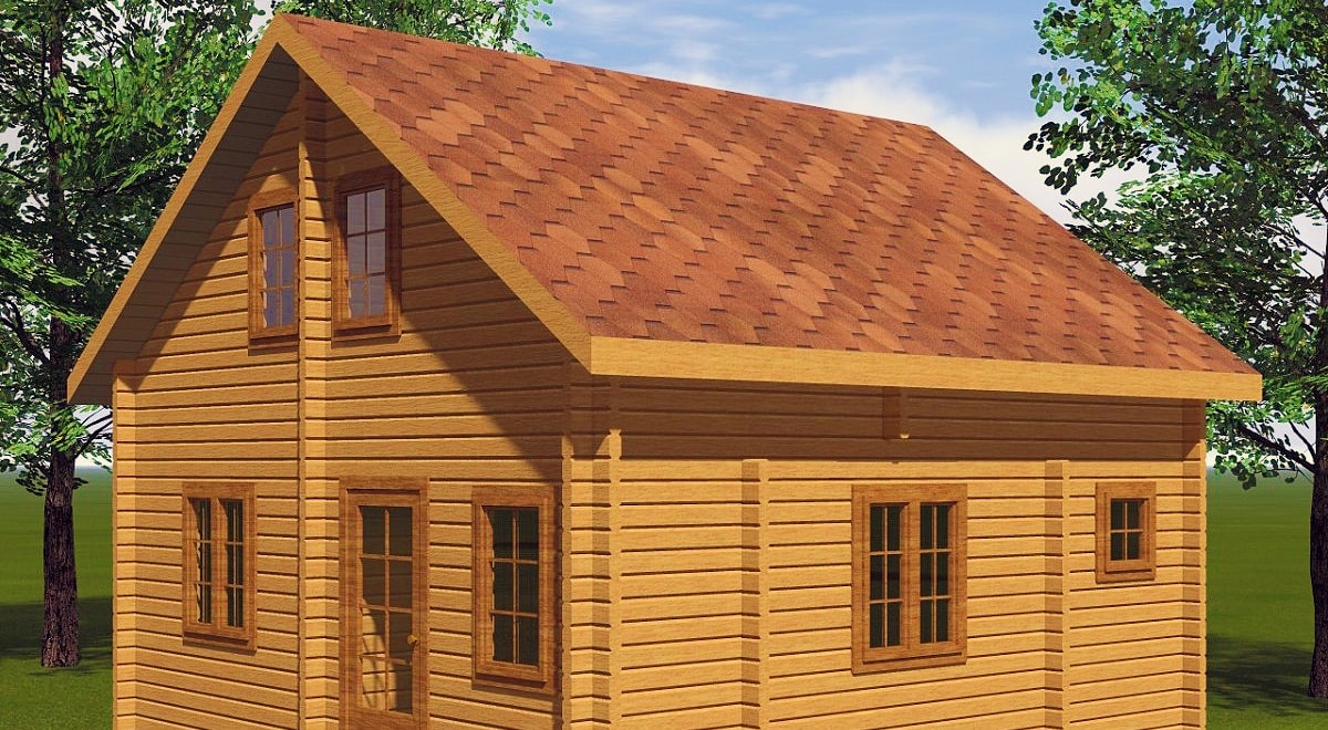 Построить дом из бруса под ключ недорого своими руками