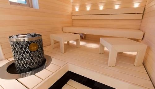 Деревянные бани из бруса купить
