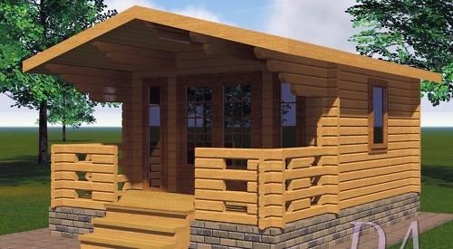 Садовые домики от компании Моё Поместье
