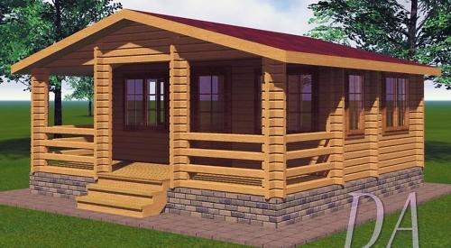 Деревянные летние дома из бруса
