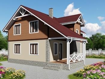 Каркасный дом К-3