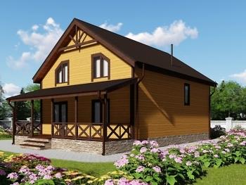 Каркасный дом К-5