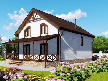 Каркасный дом К-11