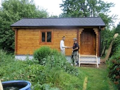 Строительство летних домов из профилированного бруса