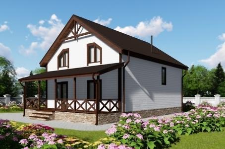 Загородные деревянные дома под ключ