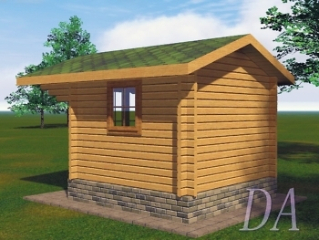 Садовый домик Д-20