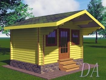 Садовый домик Д-21