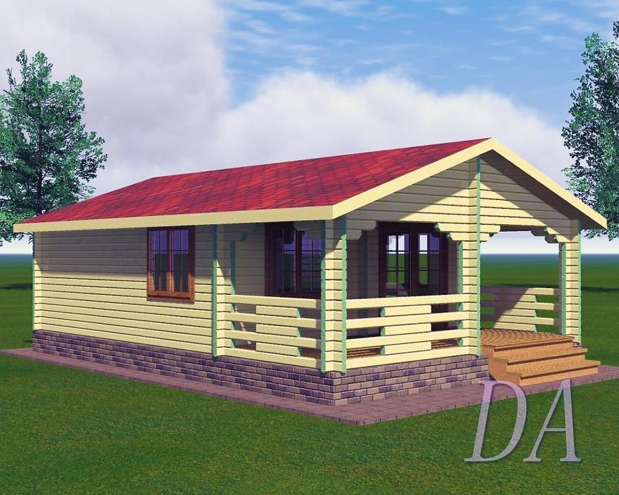 Дачный дом Д-10