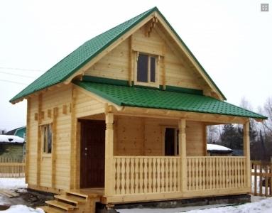 дачный дом из бруса в СТ Калининец