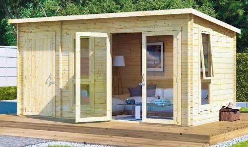 Строительство летних домиков под ключ из мини-бруса.