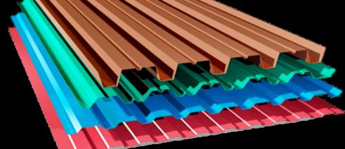 Профилированный металлический лист или профнастил