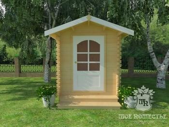 Летний садовый хозяйственный домик СД-6