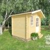 Летний садовый домик из мини-бруса «СД-8»