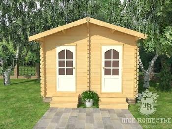 Летний садовый хозяйственный домик СД-7