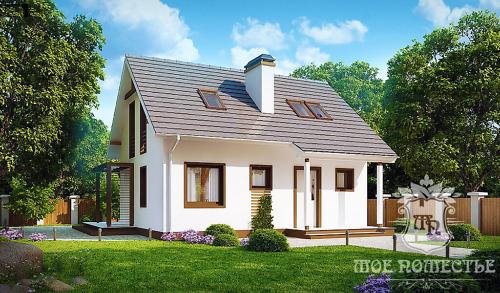 Строительство каркасных домов под ключ в Москве