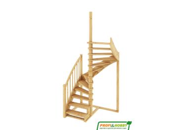 Деревянная лестница на второй этаж К‑005м‑1